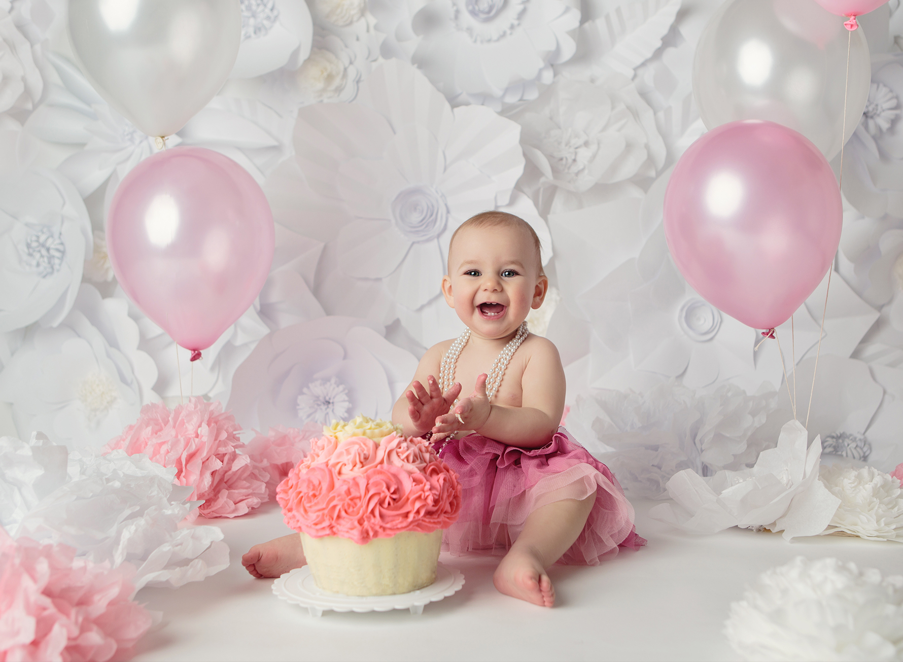 HD wallpapers first birthday cake ideas for baby girl