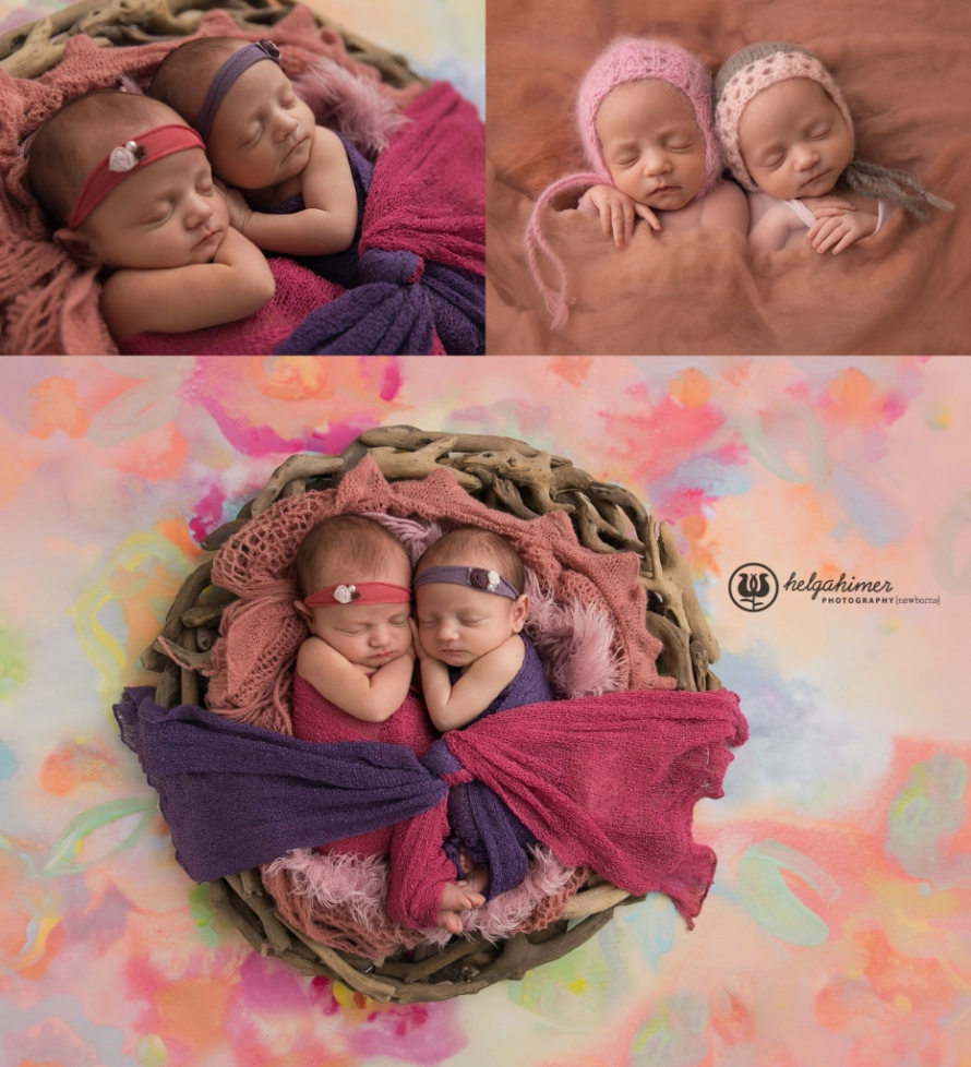Sudbury Newborn Twin Photographer