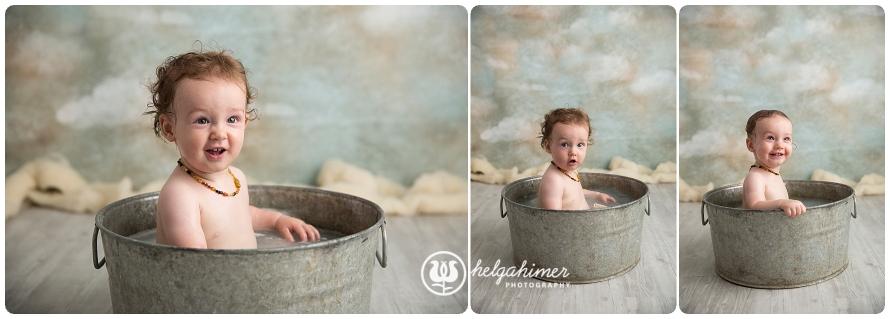 cake-smash-sudbury-infant-photographer-cakesmash-session-lion-leo-blue-oneyear-helgahimer-photography-baby-bathtime-after-cake-smash