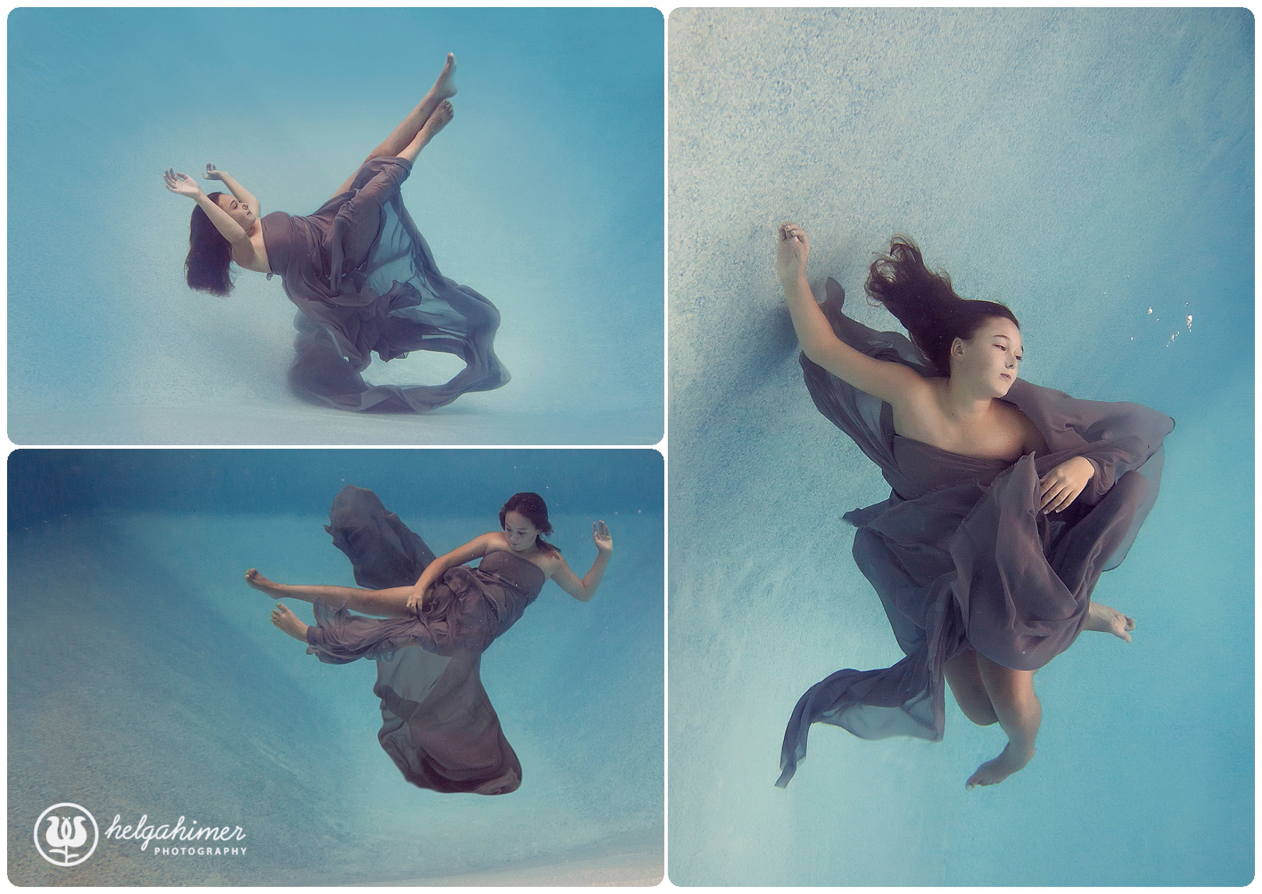 underwater photography sudbury girl swimming in water synchronized swimmer helga himer photography